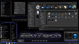 Theme For Windows 7 Windows 7 Theme Blutech By Jockhammer On Deviantart