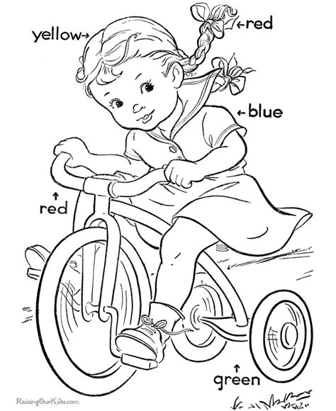 coloring book for learning colors coloring pages printing