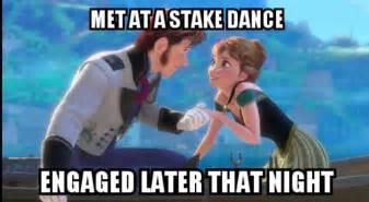 Frozen Movie Memes - mormon memes from the movie frozen