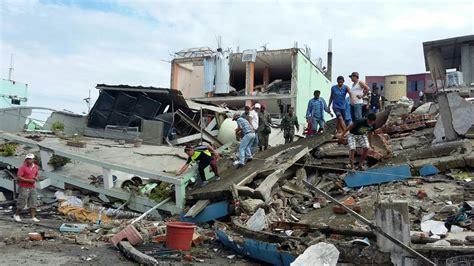 imagenes fuertes terremoto ecuador aumentan v 237 ctimas en ecuador por sismo 525 muertos y m 225 s