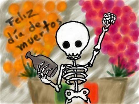 imagenes de halloween o dia de muertos escribiendo con quot tinta negra quot calaveras