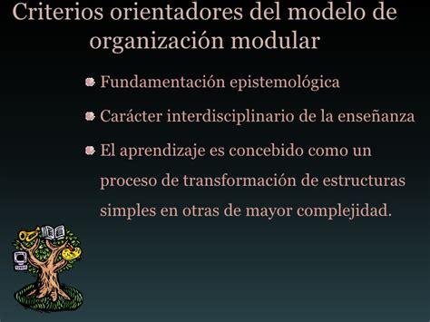 Modelo Curricular De Margarita Pansza Margarita Pansza Ense 241 Anza Modular