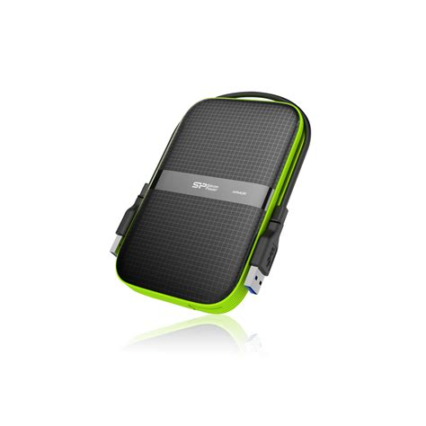 silicon power rugged silicon power armor a60 1tb usb 3 0 rugged shockproof water resistant external drive 2 years