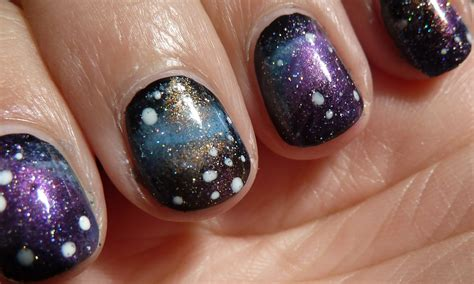 tutorial nail art galaxy nailsbystephanie tutorial galaxy nails