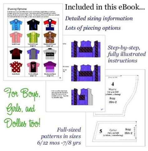 pattern bowling shirt bowling shirt boutique pattern pdf ebook by