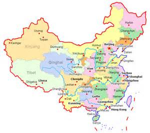 Map Of China Cities by Map Of China Major Cities Galleryhip Com The Hippest