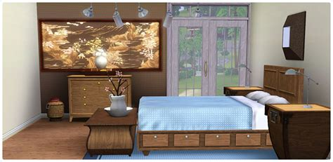 bedroom sims 3 contemporary comfort bedroom store the sims 3