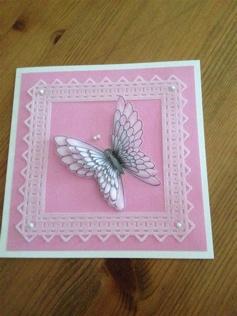 Vellum Craft Paper - this was the butterfly we did on a girlie craft i