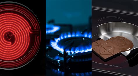 induction cooking compared to gas the difference between electric gas induction cooktops