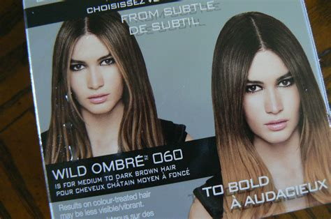 review with before and after photos loreal feria hair review loreal feria wild ombre before and after feria