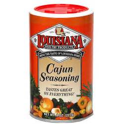 louisiana fish fry products cajun seasoning 8 oz pack of