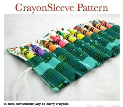 pattern for crayon roll up crayon roll pattern etsy 4 sew me baby pinterest