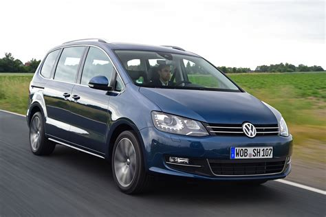 vw sharan  facelift review auto express