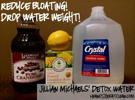 Detox Drinks To Reduce Bloating by 1000 Ideas About Water Weight On Cleanse