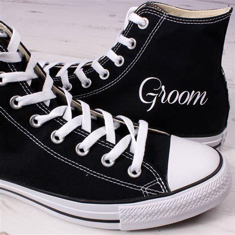 Groom High Tops   Add Wedding Date   Wedding Converse
