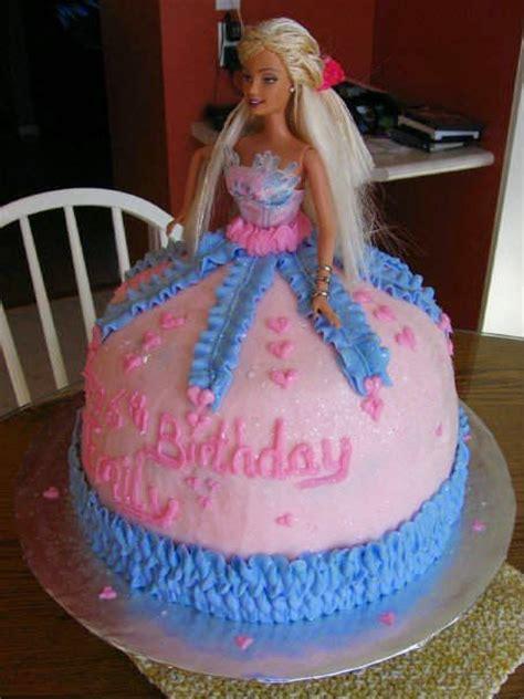 doll design birthday cake 6 cute barbie girl birthday cake designs