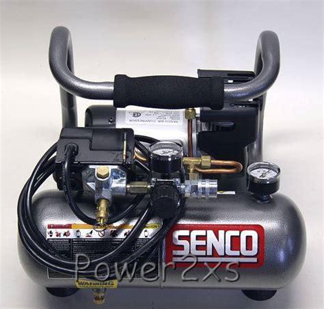 senco 1hp peak portable compressor pc1010 brand new 1 2 hp running ebay
