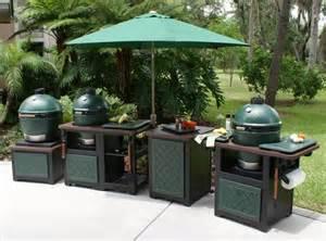 big green egg tablesoutdoor kitchen cabinets