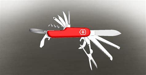 solidworks tutorial knife swiss army knife solidworks 3d cad model grabcad