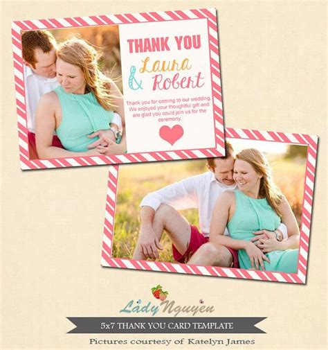 3 x 5 thank you card template 1000 images about wedding thank you templates on