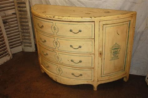 Half Moon Chest Of Drawers by Charming Early 20th Century Half Moon Chest For Sale At