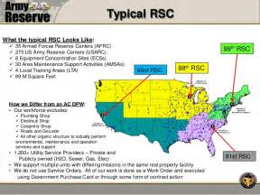 us army regions map army reserve works
