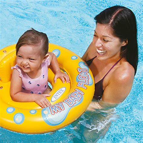 Intex Pelung Baby And My Swim Float Intex 56590 intex my baby float swimming ring pool chair lounge with backrest