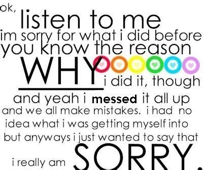 sorry day i am single i m sorry quotes my mistake was putting you through all