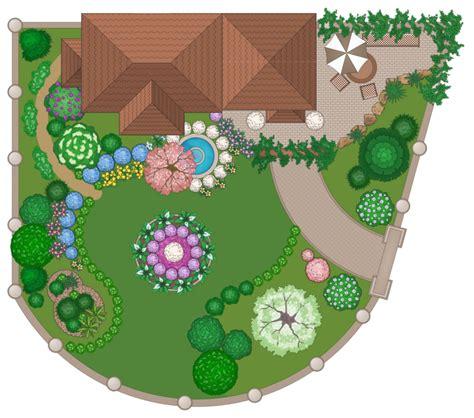 landscape garden solution conceptdrawcom