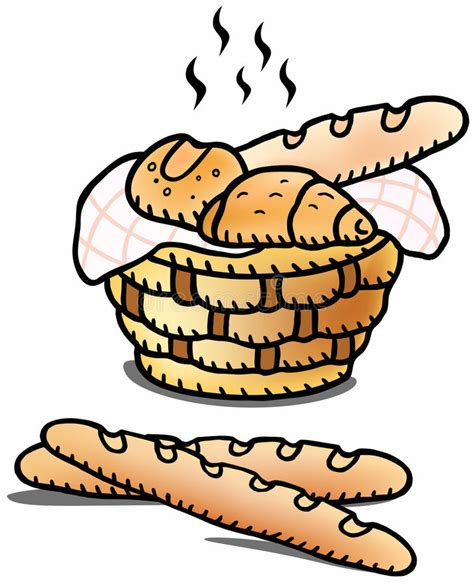 clipart pane fresh bread illustration stock vector illustration of