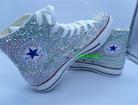 bling shoes flat bling shoes converse bling shoes wedding by zmyblingz