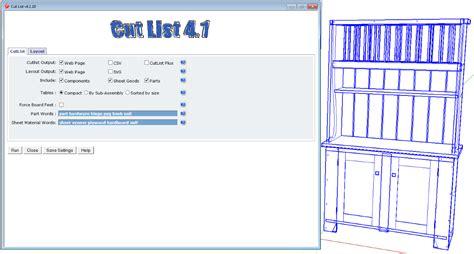 cabinet cut list software free cutlist plus bertyljunkies