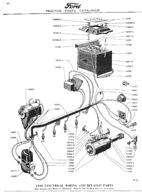 8n ford tractor parts diagram wiring diagram for 8n ford tractor 6 volt readingrat net