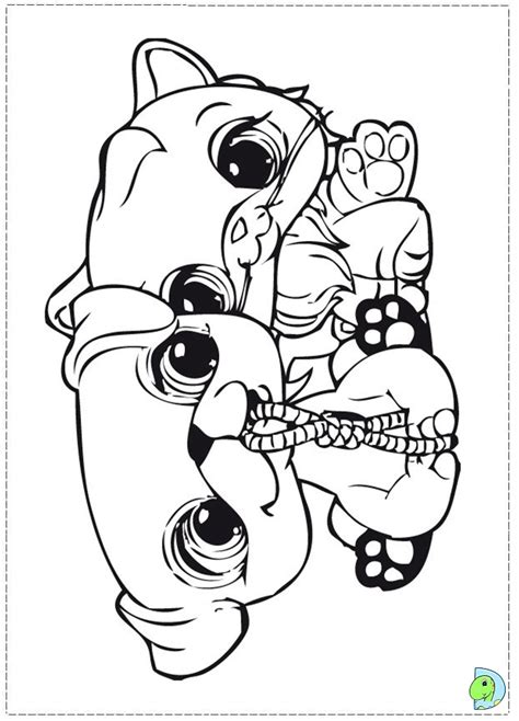 littlest pet shop coloring pages zoe trent littlest pet