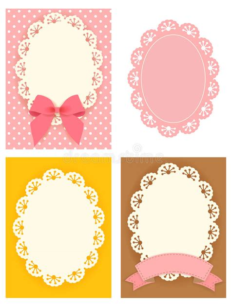 cute lace pattern vector free cute lace pattern stock illustration illustration of