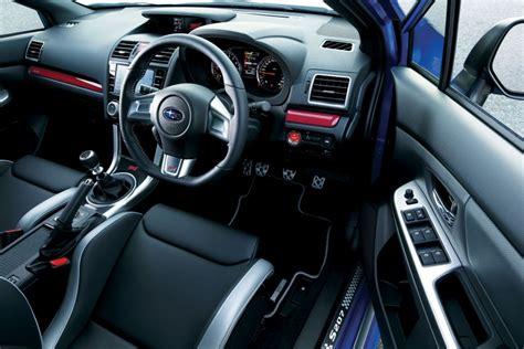 Subaru Wrx Sti 2015 Interior by Subaru Wrx Sti S207 Edition Unveiled At Tokyo Show Performancedrive