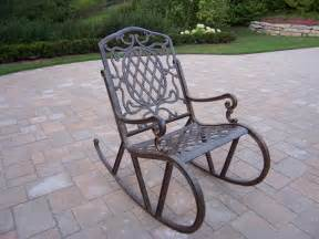 Metal Rocking Patio Chairs Rocking Lawn Chairs To Relax