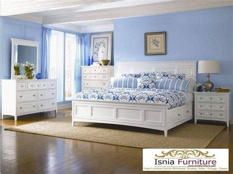 Set Dewasa Mewah model kamar set tidur dewasa putih duco