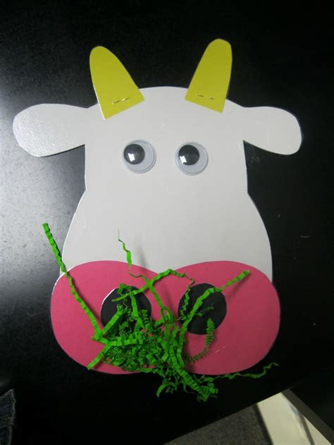 farm animal crafts for cow craft for farm animals unit animal crafts