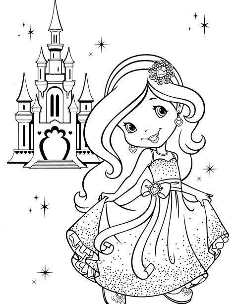 princess mighty friends coloring book a book to color books strawberry shortcake 9 coloringcolor
