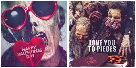 the walking dead valentines cards the walking dead s day cards hallmark debuts