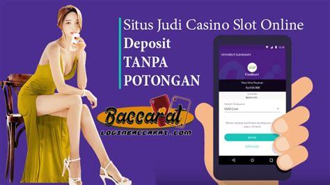 situs judi casino slot deposit pulsa potongan