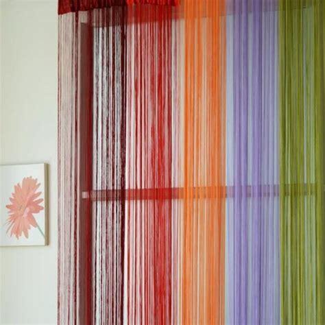 tende a spaghetto tenda separatrice a fili per porta finistra viola cm