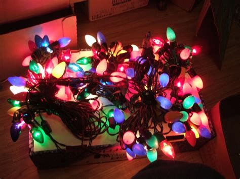 vintage christmas lights c9 christmas light by