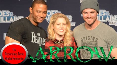 Heroes Villains Fan San Jose 2017 Arrow Panel