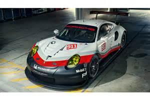 Porsche Rsr Porsche Introduces Mid Engined 911 Rsr For Le Mans And