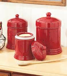 Unique Canister Sets Kitchen Red Canister Set For Kitchen Kenangorgun Com