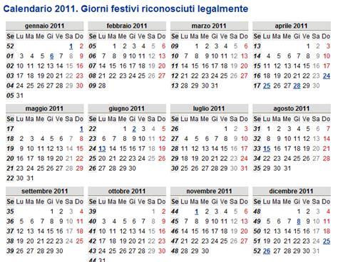 Calendario Giorni Festivi 2011 Italia Sonhos Na It 225 Lia Giorni Festivi In Italia Feriados