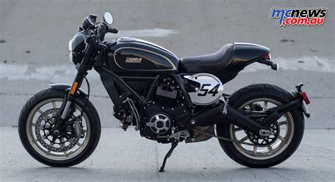 Ducati Motorrad Scrambler by 2017 Ducati Scrambler Cafe Racer Mcnews Au