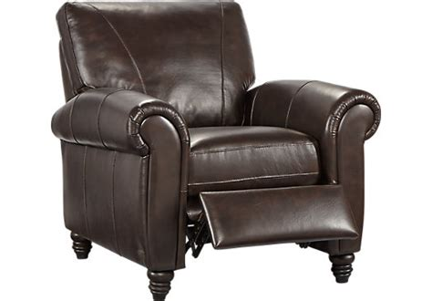 cindy crawford recliner cindy crawford home lusso coffee bean leather recliner